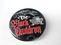 VINTAGE PROMO PINBACK BUTTON #97-101 - THE BLACK CAULDRON