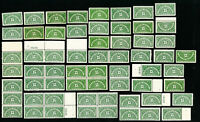 US Stamps # QE2 F-VF OG NH Lot of 60 Catalog Value $285.00