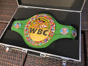 New Style WBC World Champion-Custom Made Boxing Belt-Read Description-WBC,WBO