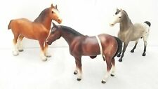 Lot of 3 Assorted Traditional Breyer Horses