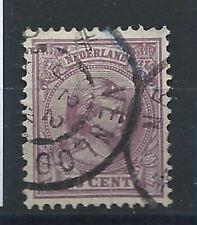 "Pays Bas N° 42 Obl (FU) 1891-97 ""Wilhelmine"""