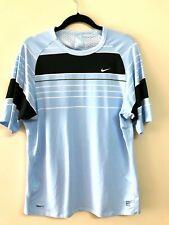 Nike FitDry Men's Roger Federer 2007 INDIAN WELLS Tennis Shirt US Mens Medium