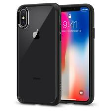 Original Spigen Protective Cover for iPhone X Raised Edge Ultra Hybrid Case