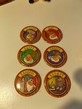 "Vintage Lot Of Disney ""Snow White & The Seven Dwarfs"" Pins / Buttons"