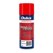 Dulux METALSHIELD QUICK DRY SPRAY PAINT 300g Aerosol, High Gloss SIGNAL RED
