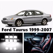 12pcs LED Xenon White Light Interior Package Kit for Ford Taurus 1999-2007