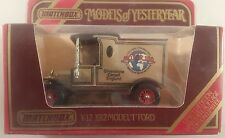 matchbox models of yesteryear boxed Y12 1912 model T ford 1912 motor 100