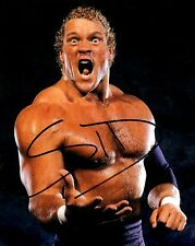 PSYCHO SID WWE WWF AUTOGRAPHED 8X10 COLOR PHOTO #1