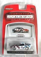 CORVETTE Z06 2007 BRYCKYARD 400 PACE CAR  - GREENLIGHT 1/64