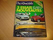 L'automobile N°289 304 Coupé & 304 Cabriolet.BMW 2800 CS