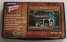 Walthers Cornerstone 933-3321 Ho Scale Lasercut Macon's Store Building Kit Lnib