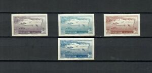 MIDDLE EAST FRENCH COLONIES IMPERFORATED PROOF Essay Set stamps MH -LOT (61 A)