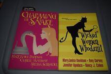 Autographed Mary Janice Davidson Trade Size Paperback Book Lot Mystery Romance
