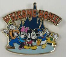 Disney's Fab Five In Mask Fantasy Pin! Mickey Minnie Donald Goofy Pluto mask pin