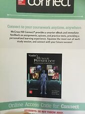 Connect Access Card for Vander's Human Physiology Of Body Function 14th