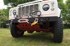 Landrover Defender Winch Bumper with twin LED fog Lights
