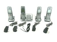 Panasonic KX-TG4131 DECT 6.0 Plus Cordless Telephone System
