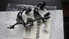 Brand NEW Black Campagnolo Veloce Front Rear Brake Calipers brakeset Dual Pivot