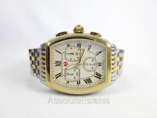 MICHELE RELEVE Chronograph Two Tone Gold & Silver Watch MWW19A000029
