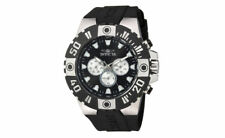 Invicta 23967 Men's Pro Diver Multi Function Black Silver Tone Sport