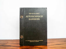 Vintage Racing 1970 Piet Olyslagers Autotechnisch Handboek Dutch Automobile Book