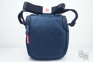 Manfrotto - Solo I Holster Water-Repellent Padded Camera Bag (Blue) MB SH-1BU