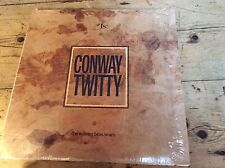 CONWAY TWITTY Number 1's The Warner Bros Years LP VINYL 10 Track Sleeve Has