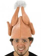 Nouveauté Drôle Noël Thanksgiving dinde cuite accessoires costume chapeau xm4542