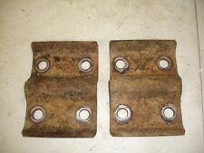 73-87 CHEVY GMC REAR 1/2 TON spring plates k10 10 BOLT SUBURBAN BLAZER K,10