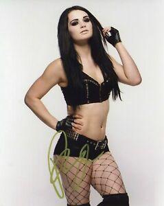 PAIGE (Saraya-Jade Bevis) WWE Autographed Signed 8x10 Photo REPRINT