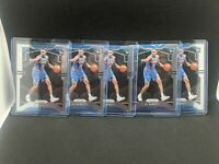 Investor Lot of (5) 2019-20 Panini Prizm #250 RJ Barrett Knicks RC Rookie