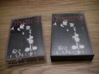 "The Doors ""In Concert"" Live 2 Cassette Tapes Jim Morrison"