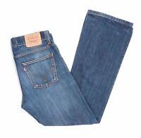 Levi's Levis Jeans 512 W33 L32 blau stonewashed 33/32 Bootcut -JA6126