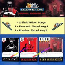MARVEL DICE MASTERS KNIGHT OP KIT EVENT 1 - Punisher + Daredevil + Black Widow