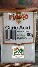 2X100G Acide Citrique 200 g-Fudco-Qualité Premium!