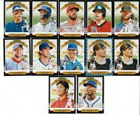 2019 DONRUSS BASELBALL LOT OF 26 DIAMOND KINGS INCL 2 INDEPENDENCE DAY PARALLELS