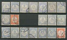 Nederland Port  69 - 79 A + B gebruikt (4)
