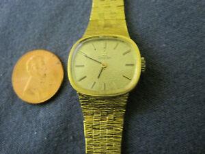 H54 ladys gold plate OMEGA watch bracelet