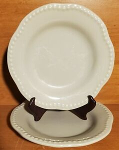 "Pottery Barn EMMA CELEDON Salad plate set of 2"", 8 3/4"", Portugal, Very good"