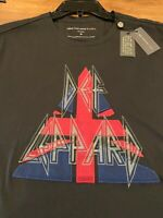 NWT John Varvatos Star USA DEF LEPPARD Embellished T Shirt M Black