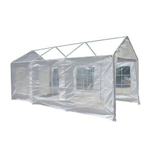 ALEKO Removable Replacement Polyethylene Side Walls for 10X20 Carport Canopy