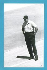 Lee Weyer Vintage Baseball Umpire Postcard