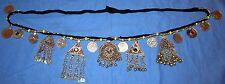 "Belt Beaded Alpaca Silver Afghan Kuchi Tribal Belly Dancing 45"" long"