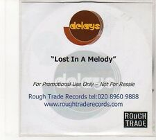 (FD20) The Delays, Lost In A Melody - DJ CD