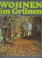 DDR Zeitschrift Wohnen im Grünen 3-1980
