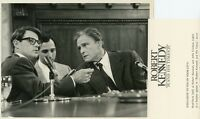 BRAD DAVIS JOHN ERICKSON ROBERT F KENNEDY AND HIS TIMES ORIG 1984 CBS TV PHOTO