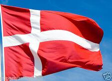 NEW 3x5 ft DENMARK DANISH FLAG WITH BRASS GROMMETS better quality usa seller