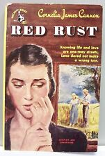RED RUST by Cornelia James Cannon vintage pb 1949 gc (pioneer America)