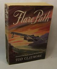 Tod Claymore FLARE PATH First Edition RARE Advance Reading Copy WWII RAF Novel