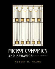 Good, Microeconomics and Behavior, Frank, Book